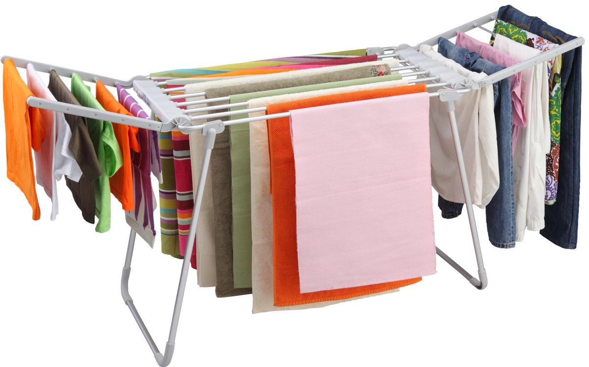 C mo secar la ropa en d as de lluvia el arroyitense - Tendedero ropa plegable ...